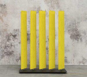 Buzzispace BuzziBlinds Straight Lines / Cloison acoustique pivotante Buzzispace (ref. 17936i)