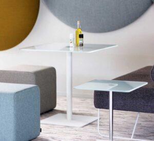 Flow Cascando / Table carrée H70 x 70 x 70 cm (ref. 10404i)
