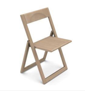 Aviva Magis / Chaise pliante en bois Magis (ref. 21221i)