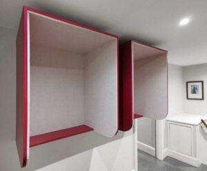 Hoxton Meavo phonebox / Cabine acoustique murale (ref. 21258i)