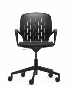 to-sync coworking / Chaise de réunion sur roulettes Trend Office (ref. 21713)