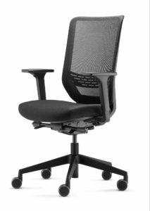 to-sync mesh pro / Fauteuil de bureau résille noir Trend Office (ref. 21754)