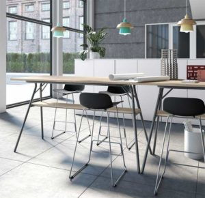 Max / Table haute rectangle MBDesign (ref. 27342i)