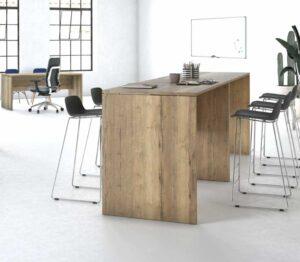 Rock / Table haute en bois MBDesign (ref. 28062i)