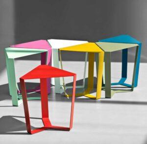 Finity Big Meme Design / Table basse triangulaire (ref. 30190i)